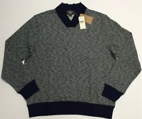 RRL Ralph Lauren 1930s Inspired Jacquard V-Neck Knit Sweater French Cotton Men