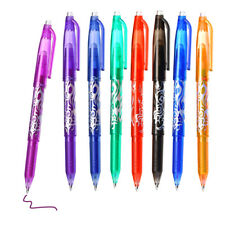 05mm Retractable Clicker Erasable Gel Ink Pens Fine Point Assorted Color 8pack