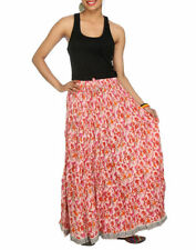 Dry-clean Only Long Floral Skirts for Women