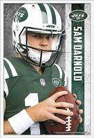 SAM DARNOLD - NEW YORK JETS POSTER - 22x34 NFL FOOTBALL 17033