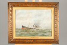 Affondamento della HMHS Britannia. dipinti di Bapela Hodges