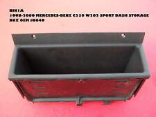 BIN1A 1998-2000 MERCEDES-BENZ C230 W202 SPORT DASH STORAGE BOX 202 683 00 91