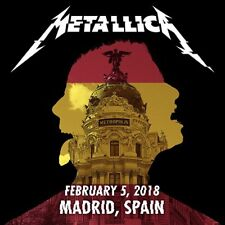 METALLICA / WorldWired Tour / Wizink Center, Madrid, Spain / February 05, 2018