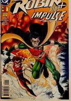 ROBIN PLUS IMPULSE #1 1996 -- IN PLASTIC -- NEVER READ