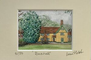 'Buxhall, Suffolk' Limited Edition, Mounted Print From Original By Irene Hart
