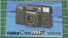 Original Konica C35 MF Camera Instructions Manual Guide C35MF