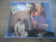 STAKKA BO HERE WE GO / HAPPYMAN / NATURAL 1993 CD SINGLE STOCKHOLM RECORDS USED