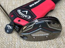 Callaway Big Bertha Hybrid #7 Golf Club 30* Recoil ZT9 Graphite F3 REGULAR w/ HC