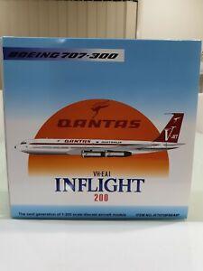 INFLIGHT 200 1/200 Qantas Boeing 707-300 VH-EAI IF707QFAEAIP
