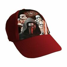 Star Wars_Gorra Niño de 4 a 9 años regulable_ Kappe / Cap red _Original_Roja