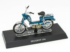 Mobylette PEUGEOT 104 1/18 Leo Models Miniature Scooter Moto M011