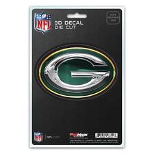 Green Bay Packers Die Cut 3D Logo Decal [NEW] NFL Car Sticker Emblem Truck