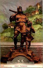 Vtg Postcard Altdorf, Switzerland - Tell Monument - Telldenkmal - Photoglob Co