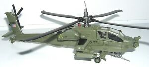attack helicopter Boeing AH-64 A Apache diecast 1:72 metal