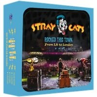 Stray Cats - Rocked this Town - New CD Album - in Stock