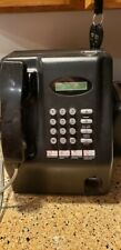 Vintage Private English Spanish Pay Phone