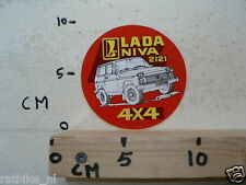 STICKER,DECAL LADA NIVA 2121 4*4 CAR AUTO