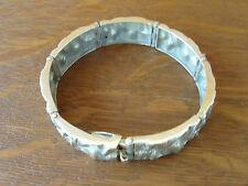 Finland Modernist Sirokoru MJH Matti J Hyvarinen Sterling Silver 925 Bracelet