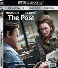 The Post (4K Ultra HD Blu-ray Disc ONLY, 2018)