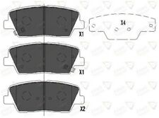 Allied Nippon Rear Brake Pad Set Fits Hyundai Kia JFN573