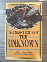 The Giant Book of the Unknown,Colin Wilson,Dr. Christopher Evans