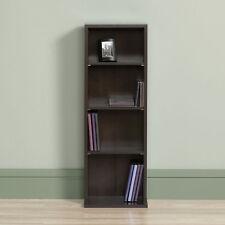 Multimedia Storage Tower Bookcase Bookshelf Home Office Rack Storage Media