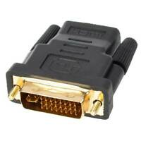Practical Dual Link DVI 24+5 Pin Male To HDMI Female Converter HD Adapter b▔