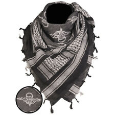 Paratrooper Shemagh Military Army Tactical Neck Arab Scarf Scrim Headscarf Black