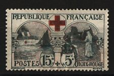 TIMBRES FRANCE NEUFS * 1918 CROIX ROUGE N 156