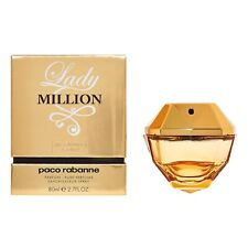 Lady Million Absolutely Gold by Paco Rabanne 2.7 oz / 80 ml Pure Perfume spray
