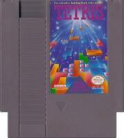 TETRIS - NINTENDO NES CARTRIDGE GAME 1985
