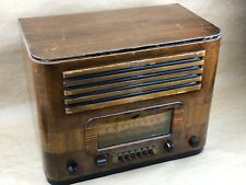 Phonola Vintage Wooden Radio 40A75-P Operated Receiver Made in the 1930s - NICE