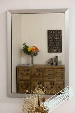 "Modern Wooden Medium (12"" - 24"") Width Decorative Mirrors"
