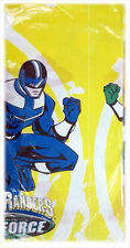 POWER RANGERS Time Force PAPER TABLE COVER ~ Birthday Party Supplies Decorations