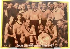 Borussia Dortmund + Deutscher Fußball Meister 1957 + Fan Big Card Edition F39 +