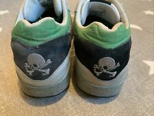"""Rare 2007 Nike Air Max 1 """"Prefontaine/Skulls Pack"""" US 12 Green 307133-301 VTG OG"""