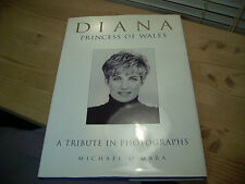 Book on Royalty DIANA, A TRIBUTE IN PHOTOGRAPHS Hardcover 1997