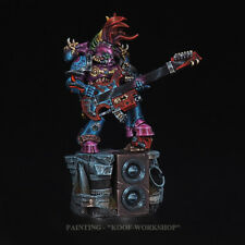 Warhammer 40k Painted Chaos Noise Marine, Exclusive NMM style painting