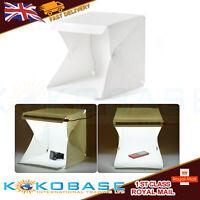 40cm Portable Foldable Mini Photo Studio Box LED Tent Photography Backdrop