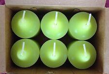 PartyLite Mystery Potion Votive Candles V06783 New 6 Bright Green Retired Htf