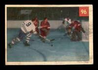 1954 Parkhurst #96 Terry Sawchuk/Ted Kennedy IA VGEX X1611787