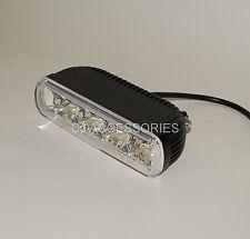 4 LED Linterna Negro Fondo Spot Luz o montaje lateral Cafe Racer Streetfighter