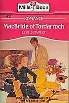 MacBride of Tordarroch by Essie Summers Mills & Boon