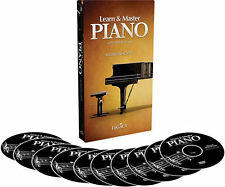 Learn  Master: Piano with Will Barrow - Workshops (DVD, 2011, 10-Disc Set) NEW