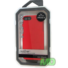 Incipio IPH-810 FEATHER Scarlet Red Ultra Thin Snap-on Case for Apple iPhone 5