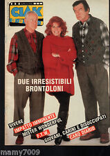 CIAK RACCONTA=SUPPL. N.9/1994=DUE IRRESISTIBILI BRONTOLONI=CARO DIARIO=F.T.W.