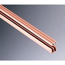 Plastic sliding door track & guide for sliding glass  48""