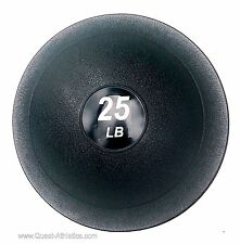 25 LB Crossfit Slammer Ball No-Bounce Slam Weighted Soft Medicine Fitness Ball