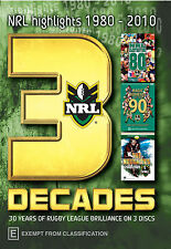 NRL Highlights 1980-2010 (30 Years of NRL Brilliance on 3 Disc DVD)