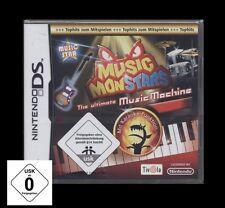 NDS MUSIC MONSTARS - THE MUSIC MACHINE (Nintendo) *NEU*